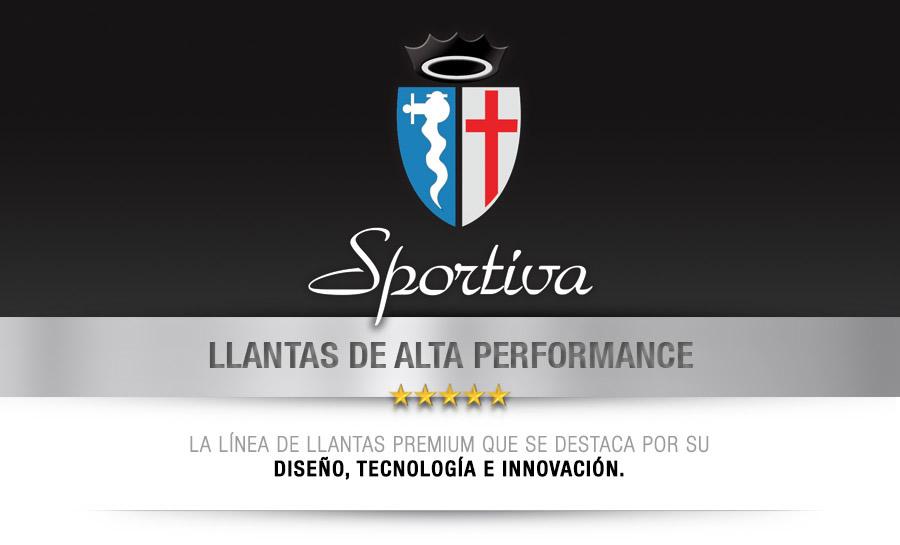 SPORTIVA - LLANTAS DE ALTA PERFORMANCE